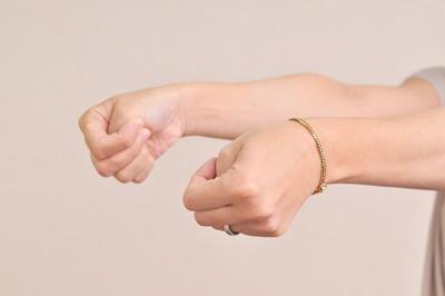手首の痛み腕に走るような痛み腱鞘炎ばね指治療